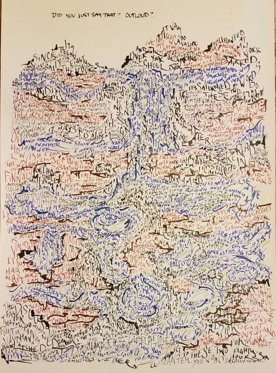 Word Mountain scroll